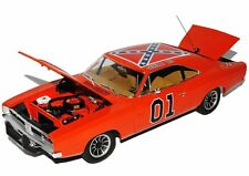 Dodge Chargeur 1969 Dukes of Hazard General Lee orange 1/18 AMERICAN MUSCLE CAR