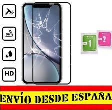 "Protector Pantalla COMPLETO NEGRO APPLE IPHONE XR ""6.1"" Cristal Templado Toalli"