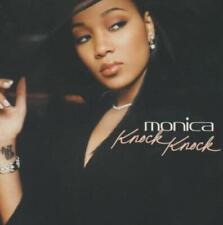 Monica: Knock Knock PROMO w/ Artwork MUSIC AUDIO CD Edit Album 4trk J1DJ-54957-2
