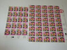 1993 Postage Stamps Collections ELVIS PRESLEY .29 cents Lot of 60 Stamps