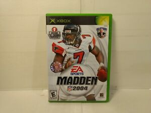 EA Sports NFL Madden 2004 Xbox Video Game v183