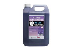 Luxury Lavender Body Wash Shampoo and Conditioner 3 in 1 - Purple Shower Gel 5L