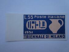 Italy  Nr # 583 1951 Imperforated  Great Proof 55 Lire  MNH X Rare