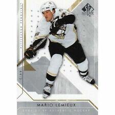 Cartes de hockey sur glace mario lemieux