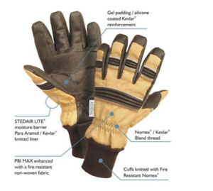 ATHENA FX 1 MAX PERFORMANCE FIREFIGHTING GLOVES DIFFERENT SIZES