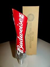 New Budweiser Lager Bud Short Iconic Beer Bar Tap Handle Man Cave Kegerator Pub