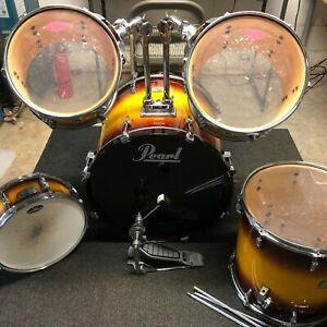 Pearl Studio Session Sunburst Drumset Drum Set