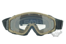 FMA Kühler Lüfter braun Outdoor Paintball airsoft Brille Ballistic Goggle