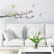 Decowall Birds Branch Nursery Kids Removable Wall Stickers Decal Da-1706