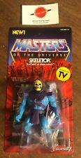 Skeletor MOTU MOC Super 7 Masters Universe Figure 2019 NEW Vintage Collection