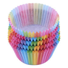 Cupcake Liner Baking Rainbow Paper Muffin Tray Cake Mold Supplies Decorating Lot