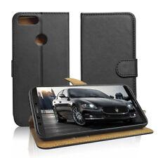 SDTEK Huawei Honor 9 Lite Faux Leather Wallet Flip Cover Case