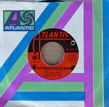 SOUL 45 - THE DEMOTRONS - I DON'T WANT TO PLAY NO MORE - ATLANTIC LABEL - 1968
