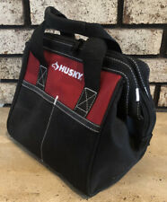"""HUSKY TOOL BAG SUPPLIES LUNCH 10"""" Tote  Durable Wide Top Opening"""
