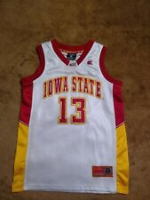 Youth Iowa State Cyclones #13 M (12/14) Basketball Jersey (White) Colosseum