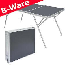 B-Ware Aluminium Campingtisch Klapptisch 180x70cm Alu Tisch Garten-Tisch Stabil