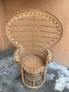 Peacock Boho Style Chair $650