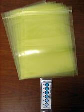 "Zerust VCI Bag, 9"" x 12"", Zip Closure, 10 Pack"
