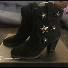 357  inc anna sui embroidered boots, Size 5,$ 139