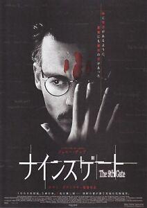 THE NINTH GATE:Johnny Depp-Japanese  Mini Poster Chirash