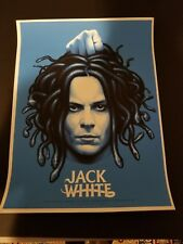 Jack White Stripes Poster 8/1/2018 Vancouver BC AE
