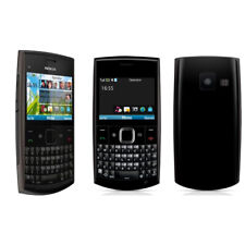 Black Original Nokia X2-01 Symbian Mp4 Email Classic Unlocked QWERTY Keyboard