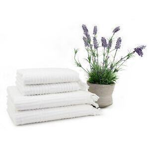 Troya 4 Pieces Bamboo Towel Set (2 Bath Towel, 2 Hand Towel)