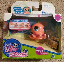 Littlest Pet Shop - Walkables - Octopus #2473 - Moves & Spins - BRAND NEW IN BOX