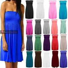 Mini Casual Dresses for Women with Strapless/Bandeau