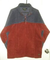 THOMAS COOK MENS SIZE LARGE NAVY BLUE & MAROON PULLOVER SWEATER FREE POST