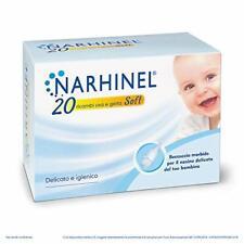 Narhinel Ricambi Usa e Getta Soft - Pacco da 20 X 100 Ogni ricambio,confezionato