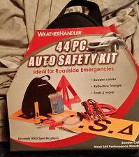 WeatherHandler 44pc Auto Safety Kit !!