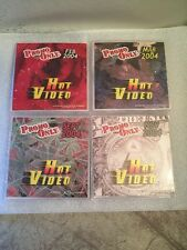 PROMO ONLY HOT VIDEO 4 DVDS 2004  # 2,3,9,11
