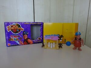 FLINTSTONES BOWL -A-RAMA  FRED MATTEL 1993 OPENED ONLY FOR DISPLAY SEE PHOTOS