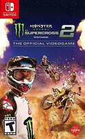 Monster Energy Supercross 2 The Official Video Game Nintendo Switch Brand New