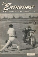 1952 August - The Enthusiast - Vintage Harley-Davidson Motorcycle Magazine