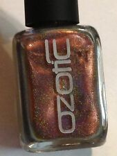 NW OZOTIC HOLO MULTICHROME 531 BROWN GOLD HOLOGRAPHIC NAIL POLISH LACQUER ENAMEL