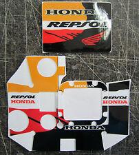3 Gopro HD Hero e HD Hero3 adesivo REPSOL HONDA STONER PEDROSA MARQUEZ GO PRO