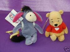 Winnie The Pooh Valentine & Eeyore Cupid BB Plush wTags