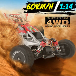 RC Car 4WD Wltoys Remote Control Car XKS 144001 1/14 High Speed Truck  Fast Race