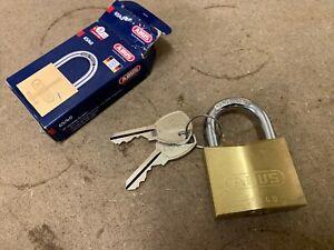 Abus Brass Padlock 65/40 pack of 3