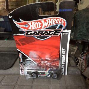 2010 Hot Wheels Garage Shelby Cobra 427 Gray Never Opened
