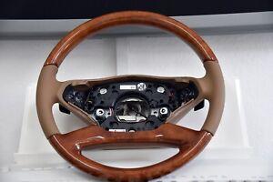 Original Mercedes-Benz Lekrad Wood Burr Walnut S-CLASS W221 S63 S65 AMG Heated