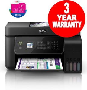 Epson EcoTank ET-4700 A4 Wi-Fi 4in1 Printer Apple Airprint C11CG85401