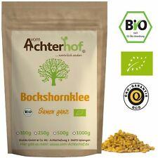 Bio Bockshornkleesamen 500g  Bockshornklee-Saat ganz aus kbA vom Achterhof