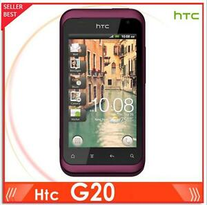 Original Android HTC G20 Rhyme S510b 3G 5MP GPS WIFI TouchScreen Unlocked 3.7''