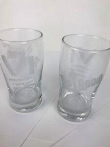 The Tap Room San Diego, CA Craft Beer Tasting Glasses Rare VI Anniversary
