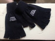 Men's acrylic wool fingerless autumn winter gloves Northern Ireland Angling