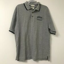 Men 2003 Walt Disney World Gray Polo Golf Short Sleeve Shirt Size M Medium