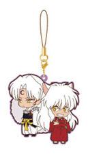 Inu Yasha and Sesshomaru Movic Rumiko Takahashi Rubber Phone Strap